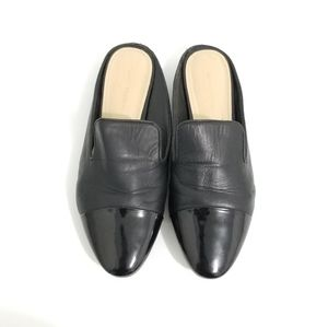 Marc Fisher Leather Mule Flats 8.5M